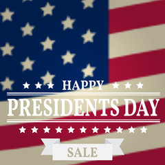 Presidents Day Sale. Presidents Day Vector. Presidents Day Drawi