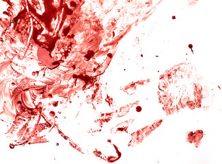 Blood splatters