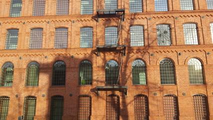 Obraz Budynek z cegły - fototapety do salonu