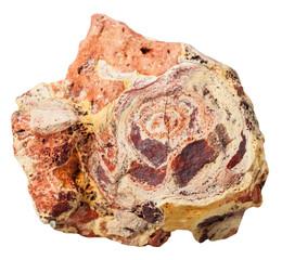 bauxite (aluminium ore) mineral stone isolated