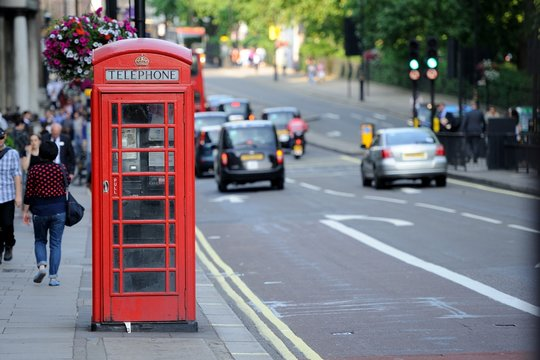 LONDON 2013 - Old phone booth