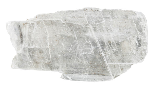 swallowtail gypsum crystal mineral stone