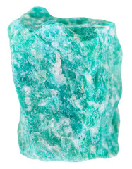 amazonite (green microcline) mineral stone