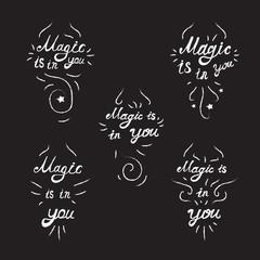 Lettering  Motivation Magic