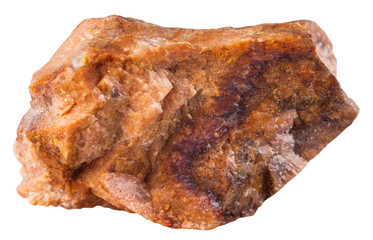 piece of orthoclase (orthoclase feldspar) mineral