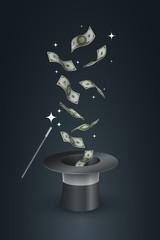 Magic Hat and Money