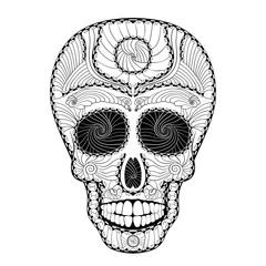 Dia de Muertos Tattoo Skull Day of The Dead