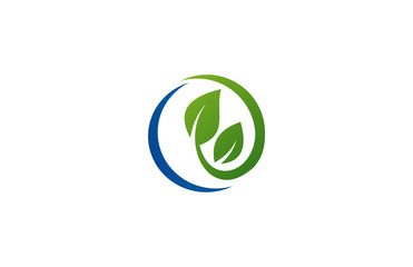 circle leaf ecology logo