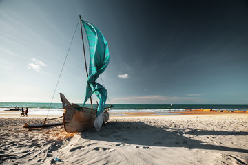 Malagasy boat
