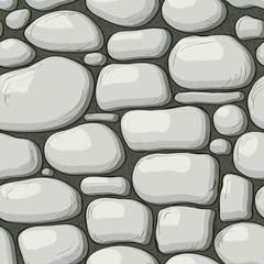 Seamless stones pattern