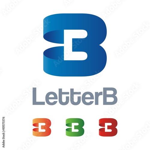 Abstract Letter B Design Logo  logogroundcom