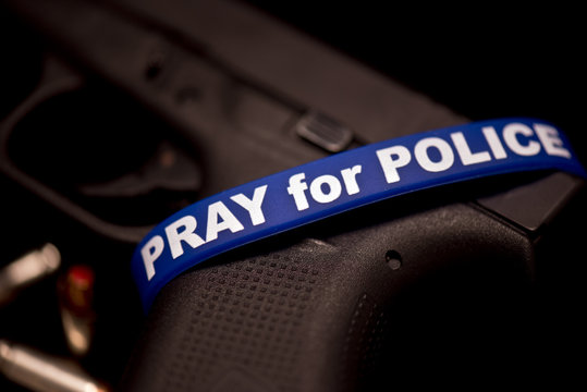 A representation of the support for our law enforcement officers.