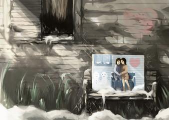 illustration digital painting fresh drawing