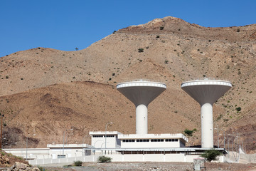 Water supply facility in Oman