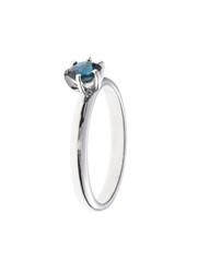 Wedding or engagement ring isolated on white