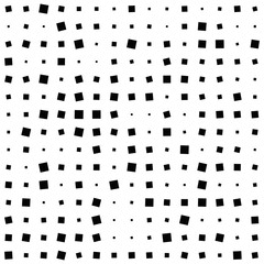 Monochrome Halftone Squads Background. Vector Illustration. Template for your presentation, web or art works.
