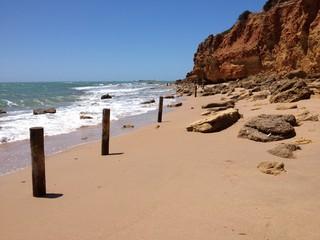 Playa la Barrossa, Costa de la Luz, Andalusien, Spanien