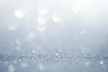 Abstract the silver light for holidays background