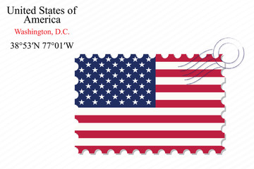 united states of america stamp design