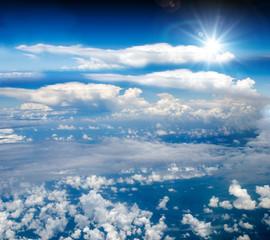 Traum vom Fliegen: Freiheit über den Wolken :)