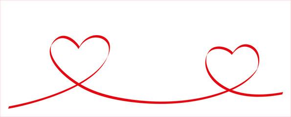 Valentinstag Band Herzen
