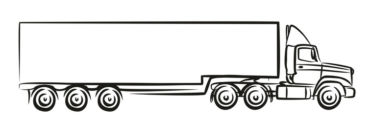 Logo of the big truck.