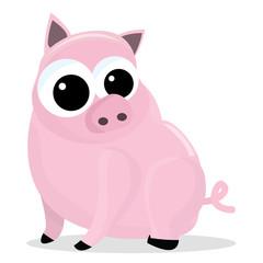 Chubby Pink Pig
