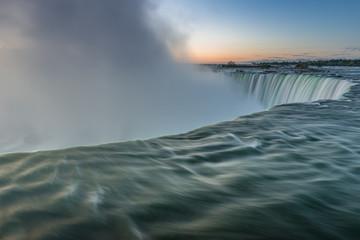 Niagara Falls at sunrise, Ontario, Canada