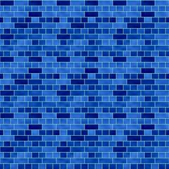 タイル模様(ネイビー)/つるっとした表面のタイルで濃いグラデーションを採用。1000px四方のシームレス素材を繰り返しています。