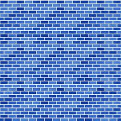 レンガ(ブルー)/表面のざらつきが強いブルーレンガを表現。1000px四方のシームレス素材を繰り返しています。