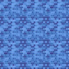 タイル模様(ブルー)/つるっとした表面のタイルを表現。表面にグラデーションを付けています。1000px四方のシームレス素材を繰り返しています。