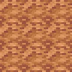 タイル模様(濃いブラウン)/つるっとした表面のタイルを表現。モルタルにワインレッドを採用し、クラシカルな背景です。1000px四方のシームレス素材を繰り返しています。