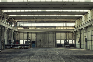 factory building hall