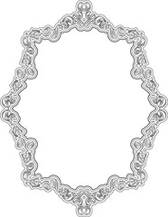 Baroque ornate greeting page