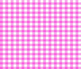 チェック柄(ピンク)/手ぬぐいのような優しいざらつきのある表面加工。シームレス素材です。