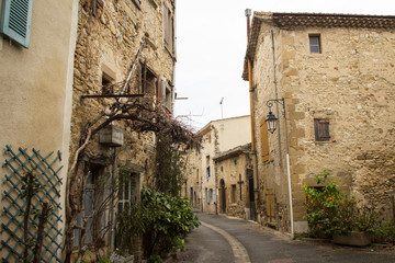 Medieval village in South of France