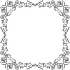 Vintage art frame