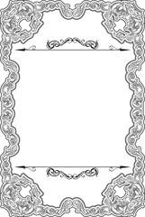 Vintage baroque nice frame