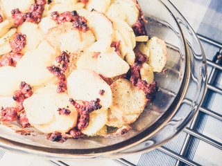 potatoes with chorizo