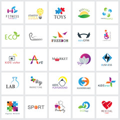 Flat Colorful Icons Set. Collection Of Color Icons,For Web,Websites, Print,Presentation Templates,Mobile Applications And Promotional Materials.Medical, Ecology,Beauty, Digital Network,Sport,Handshake