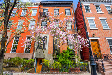 Spring Apartments in Chelsea neighborhood of New York City.
