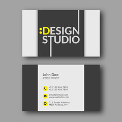 Design Studio Business Card Template