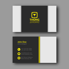 Dress designer business card