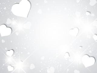 St.Valentine Day Heart  Background