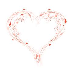 Design Herz - Grafik - Freisteller - Valentins Tag - Liebe
