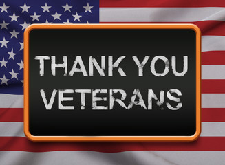 Thank you Veterans for serving USA