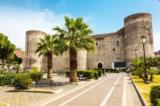 Ursino Castello in Catania, Sicily, Italy