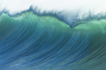 Photo sur Aluminium Eau Wave Ocean Power
