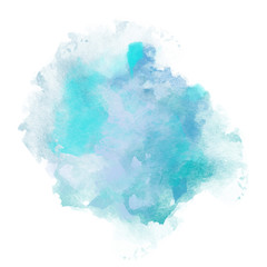 Dream Design of Winter Watercolor Splash for various decor.