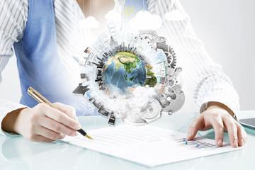 Mechanisms of world organization